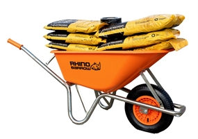 Rhino Barrow - Heavy Duty 100ltr Wheelbarrow