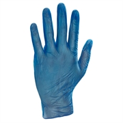 Disposable powder free vinyl gloves designed to protect hands - Latex free reducing the risk of allergic reactions.