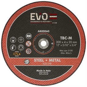 EVO Metal Cutting Abrasive Blade