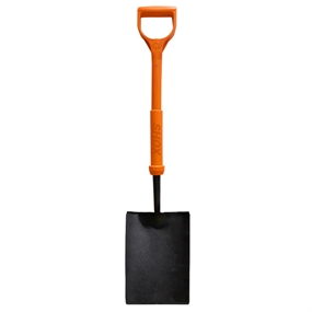 Rhino Tools Shox Insulated Taper Mouth Shovel