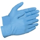 Disposable powder free Nitrile gloves which provide great dexterity and reduce the risk of allergic reactions
