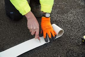 road marking